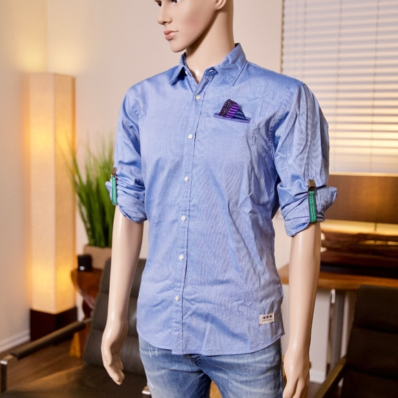 9be5b7b9e92 Scotch & Soda Shirts | Scotch Soda Mens Button Down Medium | Poshmark